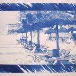 Brecl Nadia - Cyanotype
